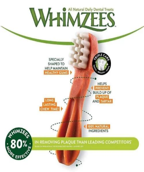 WHIMZEES TOOTHBRUSH VALUE BAG - Pet Mall