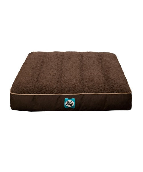 Sealy Cushy Comfy Flat Dog Bed - Pet Mall