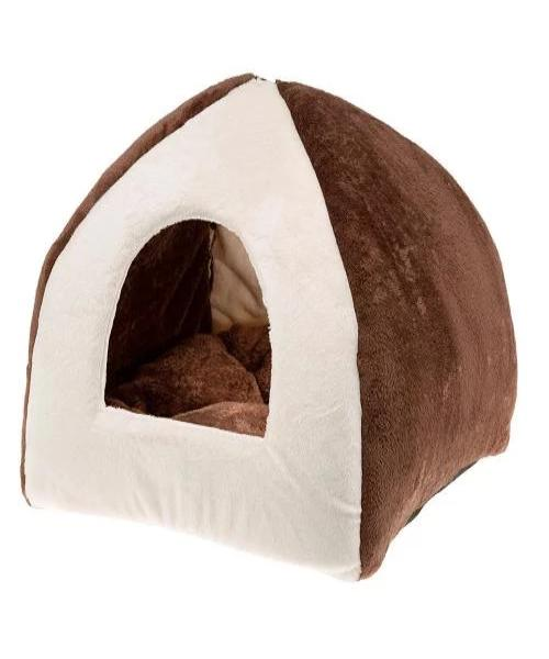 Ferplast Tipi Medium Cottage Cat Bed - Pet Mall