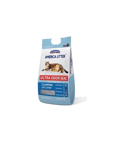 America Litter Bentonite Clay Cat Litter 8 KG - Pet Mall
