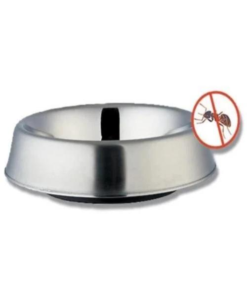 Anti-Ant Non Skid Stainless Steel Pet Bowl - Pet Mall