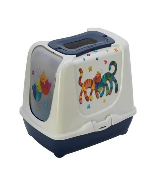 Moderna Trendy Cat Friends Forever Cat Toilet - Pet Mall