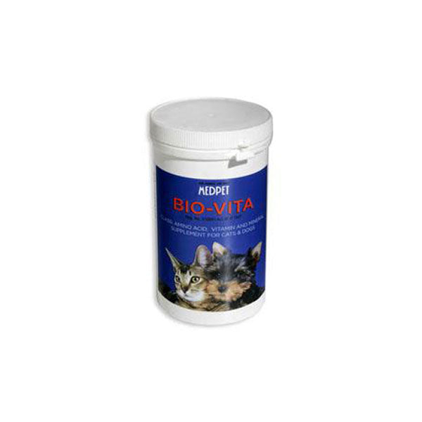 MEDPET BIO-VITA SUPPLEMENT DOG & CATS - Pet Mall