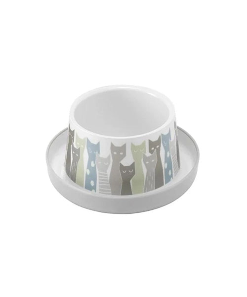 McMac Trendy Dinner Plastic Bowls - Pet Mall