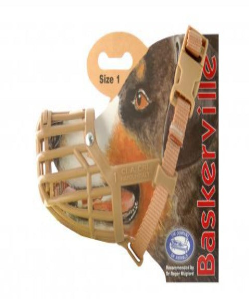 Baskerville Classic Muzzle for Dogs