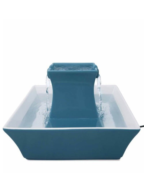 Drinkwell® PAGODA PET FOUNTAIN - Blue - Pet Mall