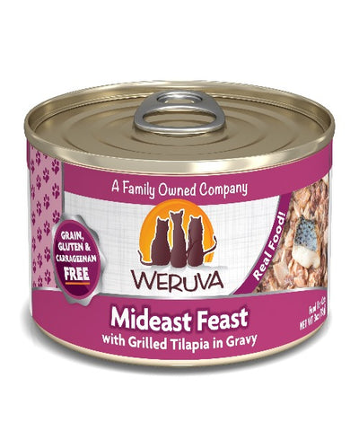 Weruva Mideast Feast in Gravy Canned Cat Food