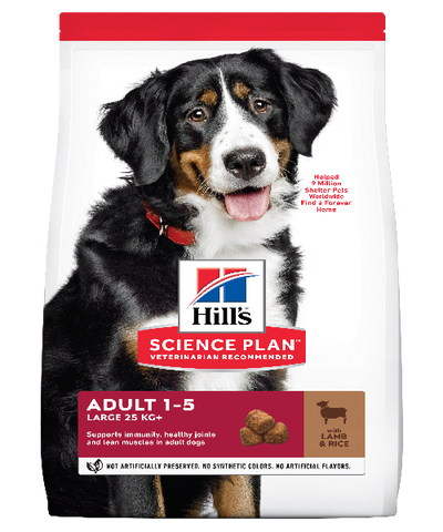 Hill's™ Science Plan™ Canine Adult Large Breed Lamb & Rice 12 KG - Pet Mall