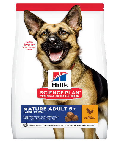 Hill's™ Science Plan™ Mature Adult 5+ Large Breed Chicken Dog Food - Pet Mall
