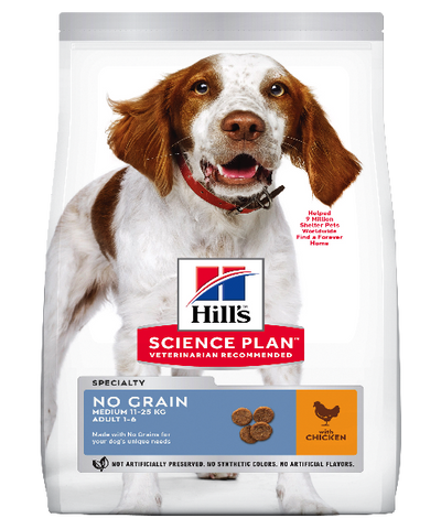 Hill's™ Science Plan™ No Grain Medium Chicken Adult Dog Food - Pet Mall