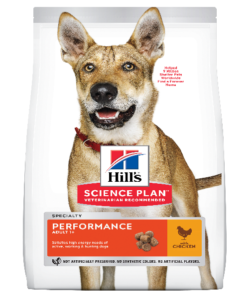 Hill's™ Science Plan™ Canine Adult Performance™ Chicken 12 KG - Pet Mall