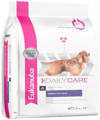 EUKANUBA Daily Care Sensitive Skin Adult Dog Food - Pet Mall