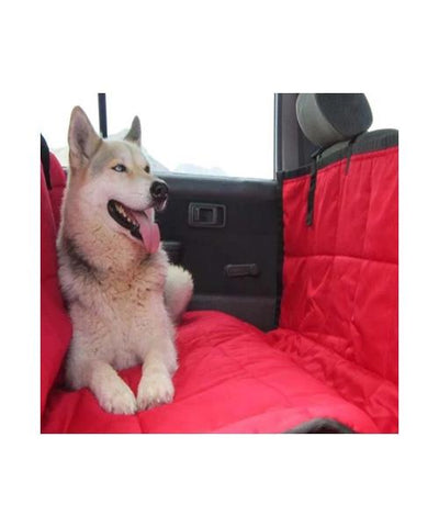 Kunduchi Car Seat Cover (Car Hammock) Red - Pet Mall