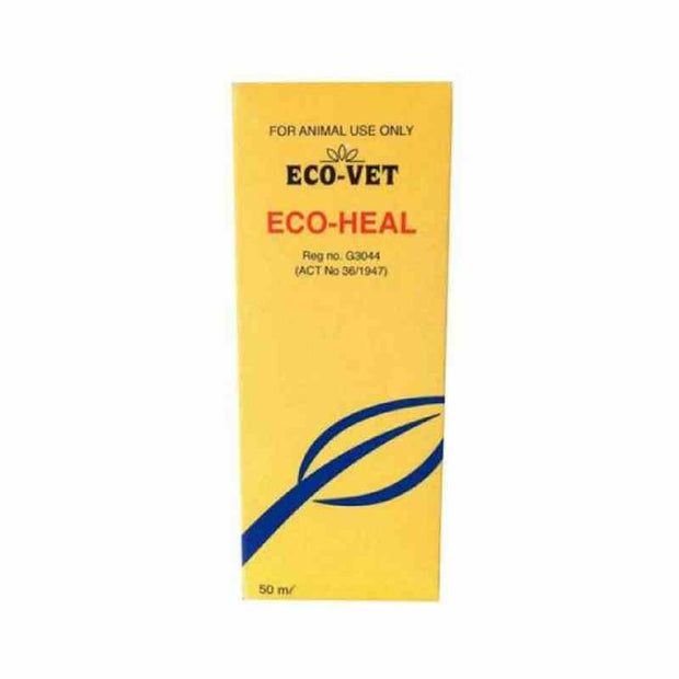 ECO-VET  HEAL FIRST AID SOLUTION 50ML - Pet Mall