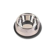 Embossed Pyramid Anti Skid Stainless Steel Pet Bowl - Pet Mall