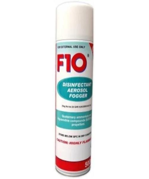 F10 DISINFECTANT AEROSAL FOGGER 500ML - Pet Mall