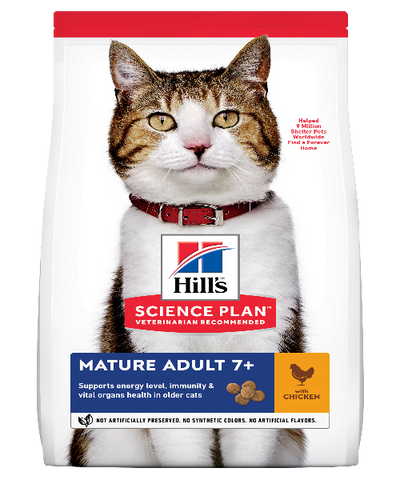 Hill's™ Science Plan™Mature Adult 7+ Chicken Cat Food