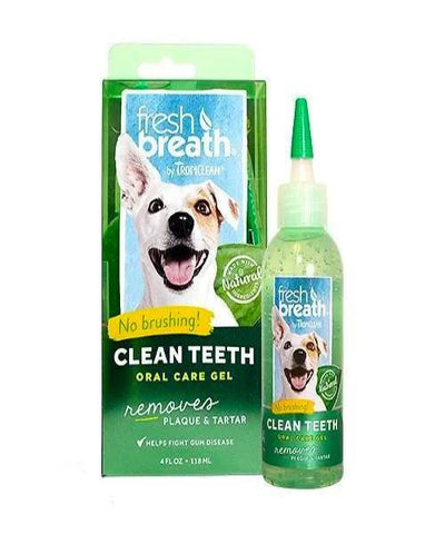 Tropiclean Fresh Breath Puppy Clean Teeth Gel 59ml