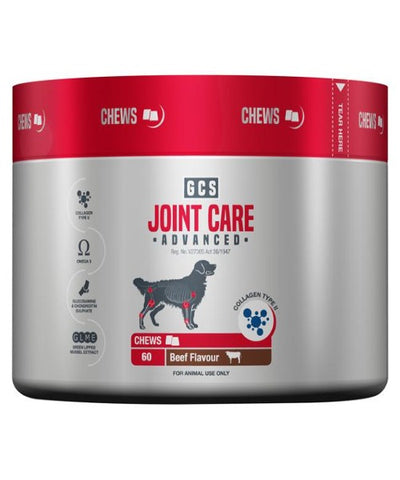 GCS Joint Care Advanced Chews 60'S