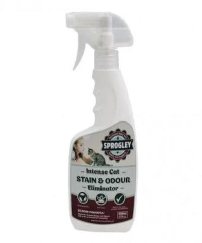 Sprogley INTENSE Stain & Odour Eliminator Cat Spray 500ml - Pet Mall