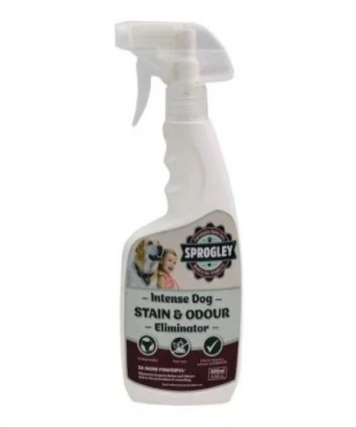 Sprogley INTENSE Stain & Odour Eliminator Dog Spray 500ml - Pet Mall