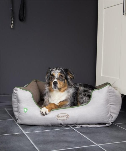 Scruffs Insect Shield Box Dog Bed - Pet Mall