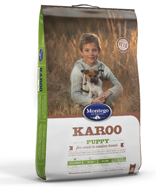 Montego Karoo Small Puppy Food - Pet Mall