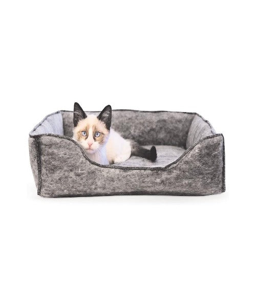 K&H Amazin Kitty Lounge Sleeper Grey