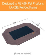 K&H Original Pet Cot - *Extra COVER Only*