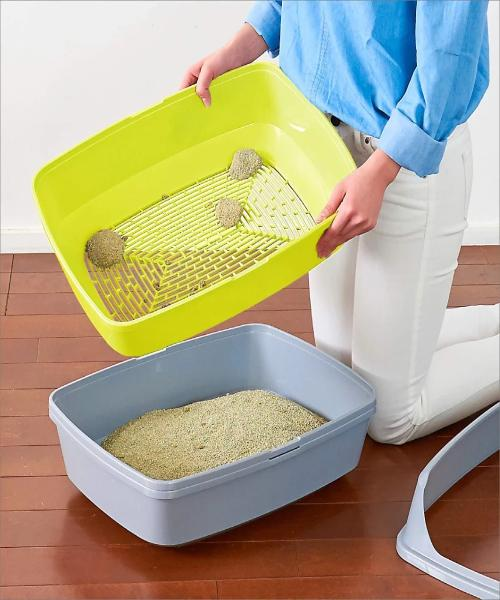 Moderna Lift to Sift Cat Litter Box - Pet Mall