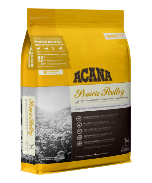 Acana Classics Prairie Poultry Dog Food  - Pet Mall