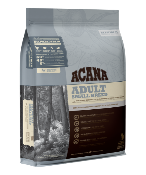 Acana Heritage Small Adult Dog Food - Pet Mall