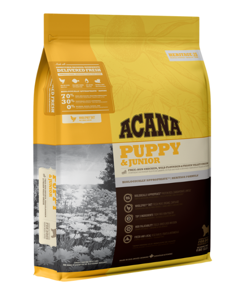 Acana Heritage Puppy & Junior Food - Pet Mall