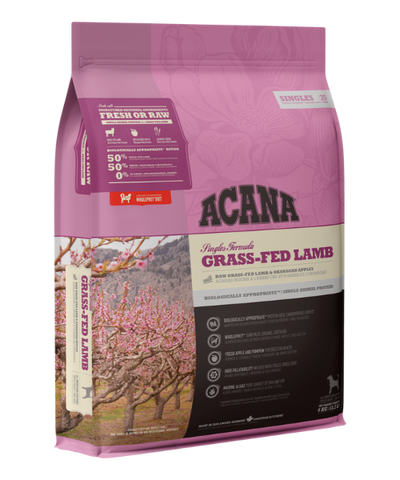 Acana Singles Grass-Fed Lamb Dog Food - Pet Mall