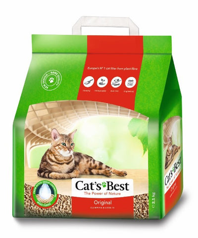 Cat's Best – Original – ECO Clumping Cat Litter - Pet Mall