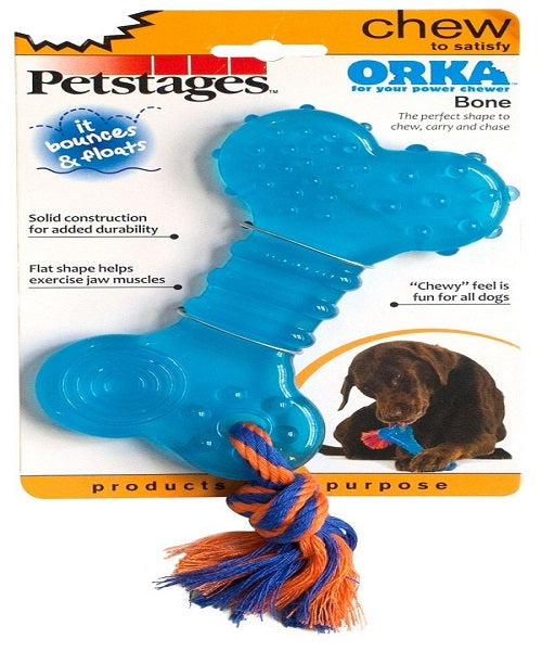 Petstages ORKA Bone Dog Toy - Pet Mall
