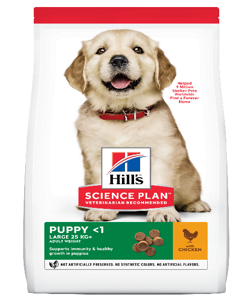 Hill's™ Science Plan™ Canine Puppy Large Breed Chicken - Pet Mall