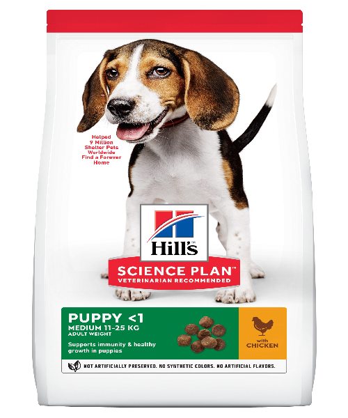 Hill's™ Science Plan™  Canine Puppy Medium Chicken - Pet Mall