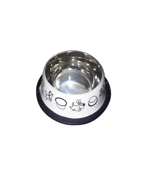 Puppy/Kitten Printed  Stainless Steel Bowl - Pet Mall