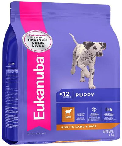EUKANUBA  Small & Medium Lamb & Rice Puppy Food - Pet Mall