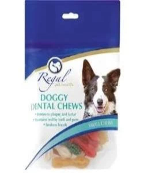 REGAL DOGGY DENTAL CHEWS SML - Pet Mall