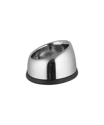Raised Non Skid Bowl Stainless Steel Pet Bowl - Pet Mall
