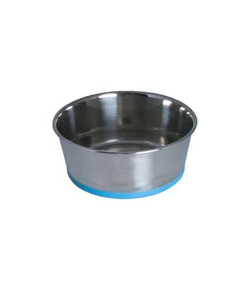 Rogz Stainless Steel Slurp Dog Bowl - Pet Mall