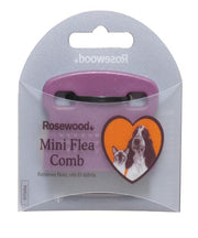 Rosewood Salon Grooming Mini Flea Comb - Pet Mall