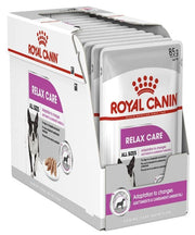 Royal Canin Relax Care Loaf Adult Wet Dog Food Pouches - 12 x 85g