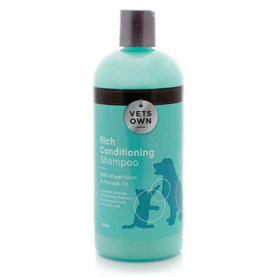 VETS OWN SHAMPOO-RICH CONDITIONING 5L - Pet Mall