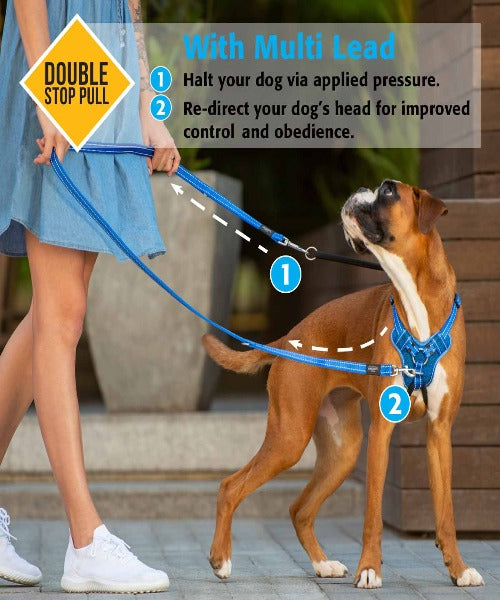 Rogz Utility Stop-Pull Dog Harness - Pet Mall