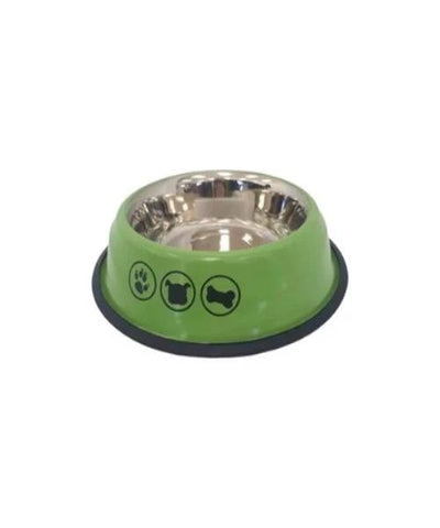 S Shape Bowl Stainless Steel Pet Bowl - Pet Mall
