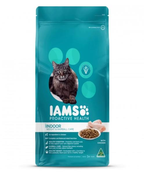 IAMS Indoor Weight & Hairball Care with Chicken Cat Food - Pet Mall