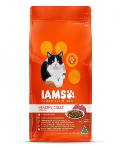 IAMS Healthy Adult Original with Ocean Fish Cat Food - Pet Mall
